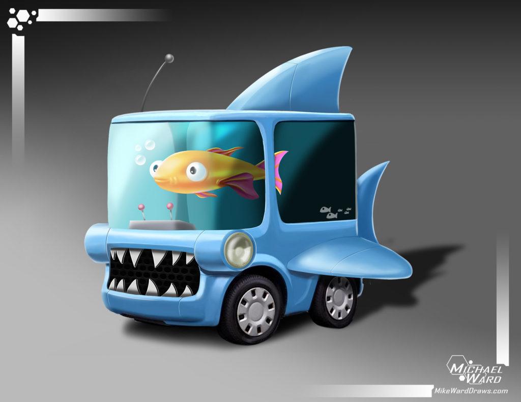 sharkcar