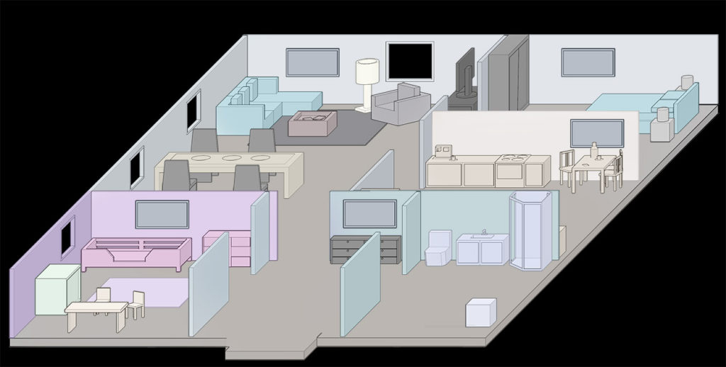 Isometric Oblique Wall Test