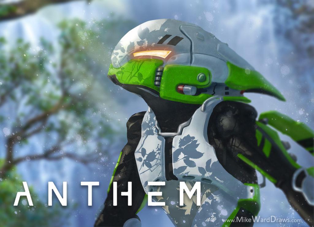 Anthem Interceptor Javelin Fan Art